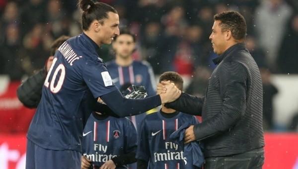 Zlatan Ibrahimovic, Ronaldo'ya hayran