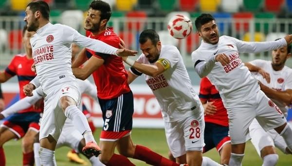 Altınordu 1 - 1 Ümraniyespor maçı özeti ve golleri
