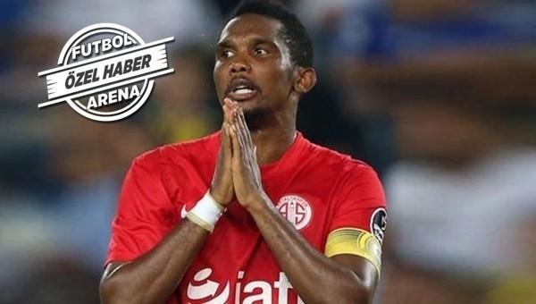 Antalyaspor'dan Beşiktaş'a Samuel Eto'o transfer cevabı