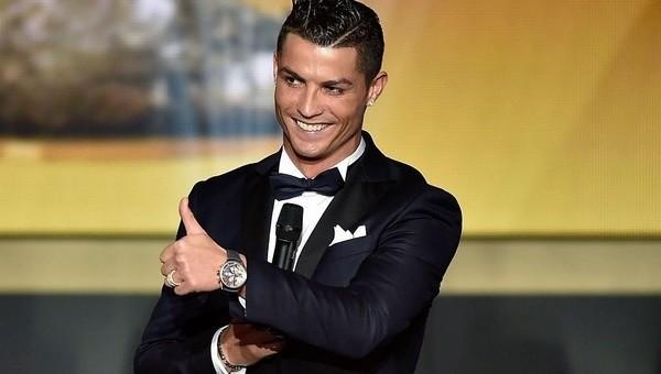 Ballon d'Or ödülü Cristiano Ronaldo'nun