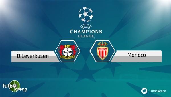 Bayer Leverkusen - Monaco maçı saat kaçta, hangi kanalda?