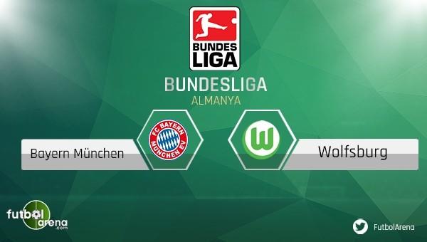 Bayern Münih - Wolfsburg maçı saat kaçta, hangi kanalda?