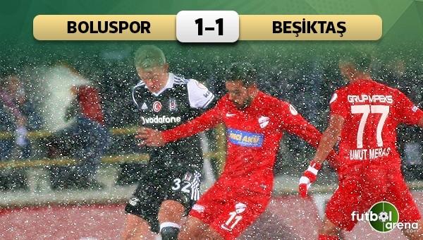 Beşiktaş, Bolu'da kara takıldı