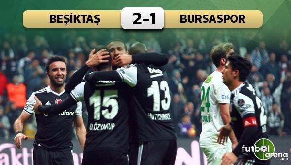 Beşiktaş, Bursaspor'u penaltılarla geçti