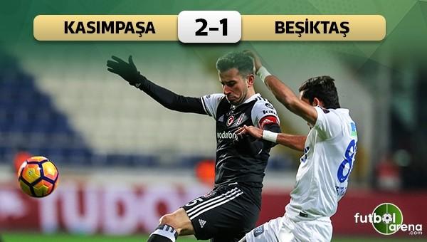 Beşiktaş'a Kasımpaşa çelmesi
