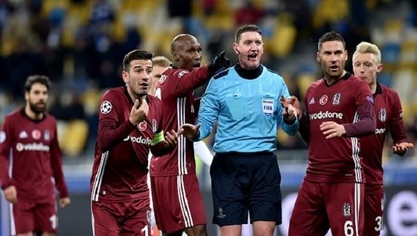 Beşilktaş'ta tam 3 futbolcu Avrupa'da cezalı duruma düştü