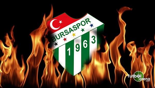 Bursaspor'da Beşiktaş öncesi FLAŞ gelişme