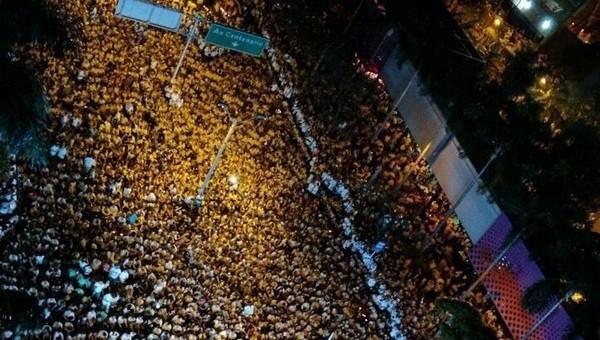 Chapecoense için 100 bin kişi toplandı