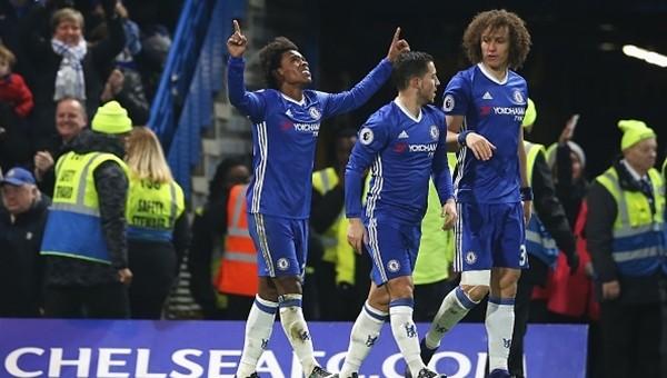 Chelsea 4-2 Stoke City maç özeti ve golleri