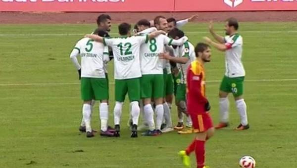 Darıca Gençlerbirliği 2-1 Kayserispor maç özeti ve golleri