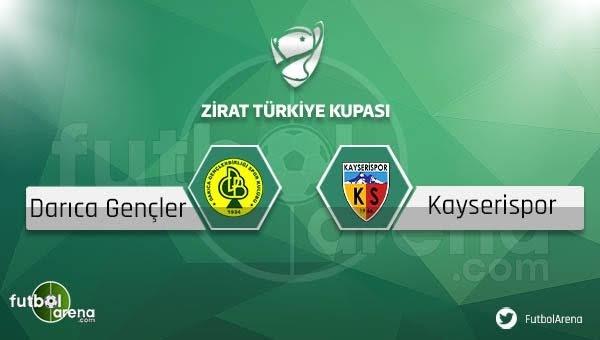 Darıca Gençlerbirliği - Kayserispor maçı saat kaçta, hangi kanalda?