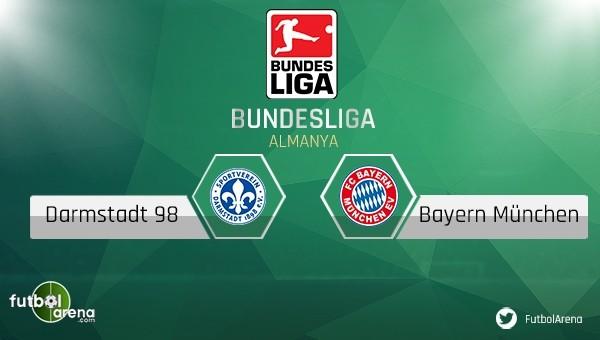 Darmstadt 98 - Bayern Münih maçı saat kaçta, hangi kanalda?