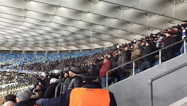 Dinamo Kiev - Beşiktaş maçında 'Burası İnönü buradan çıkış yok' sesleri