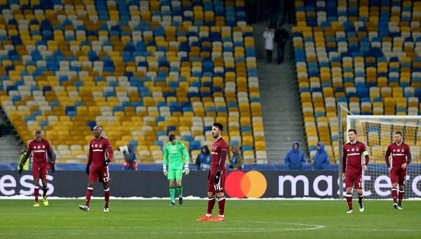 Dinamo Kiev maçında Beşiktaş katledildi