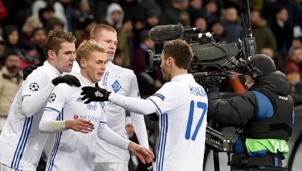 Dinamo Kiev'in forveti Besedin Şampiyonlar Ligi'inde ilk golünü Beşiktaş'a attı