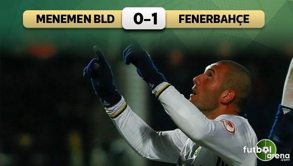 Fenerbahçe İzmir'de tek golle kazandı