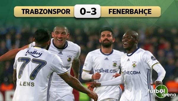 Fenerbahçe tarihi maçtan galip ayrıldı