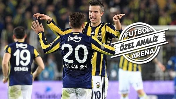 Fenerbahçe'nin ilk yarı performansı