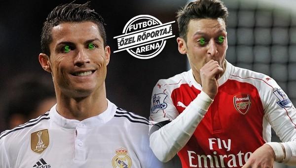 Futbol Leaks; Ronaldo ve Mesut'u yakaladı!