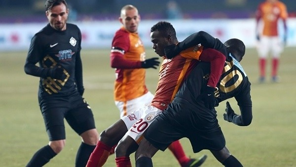 Galatasaray, Osmanlıspor'a yetişemedi