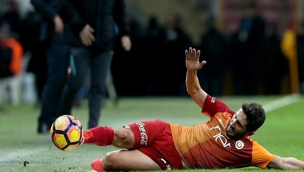 Galatasaray tribününde Sabri kavgası!