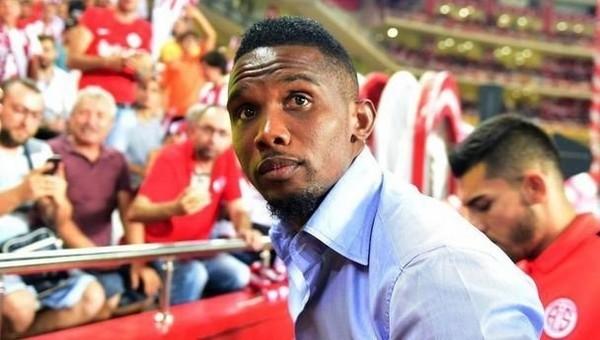 Galatasaray'dan Samuel Eto'o sürprizi