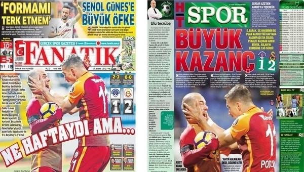 Gazete manşetleri - Gazete Oku (5 Aralık 2016)