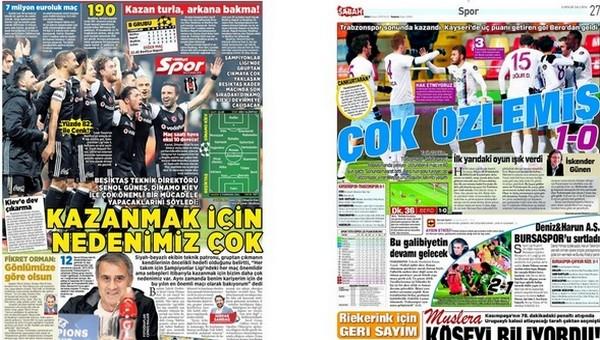 Gazete manşetleri - Gazete Oku (6 Aralık 2016)