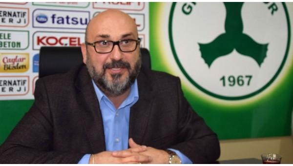 Giresunspor şike davasında Fenerbahçe'yi örnek gösterdi