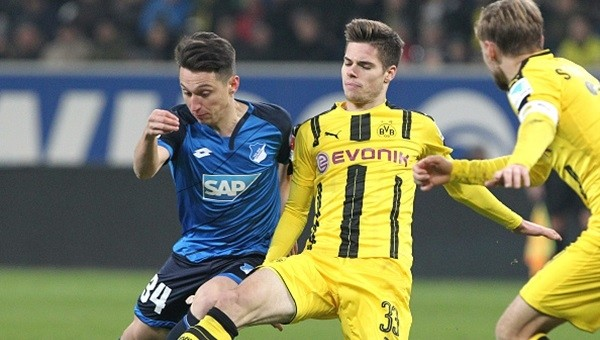 Hoffenheim - Borussia Dortmund maçı nefes kesti