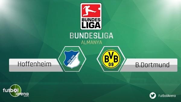 Hoffenheim - Borussia Dortmund maçı saat kaçta, hangi kanalda?
