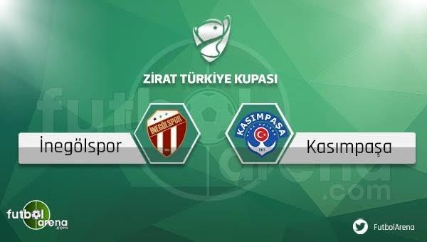 İnegölspor - Kasımpaşa maçı saat kaçta, hangi kanalda?