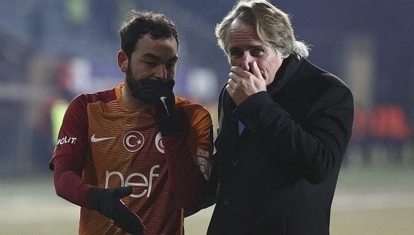 Galatasaray'da Selçuk İnan sakatlandı