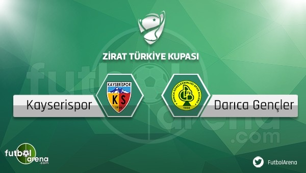 Kayserispor - Darıca Gençlerbirliği maçı saat kaçta, hangi kanalda?