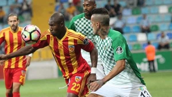 Kayserispor'da Nakoulma sevinci