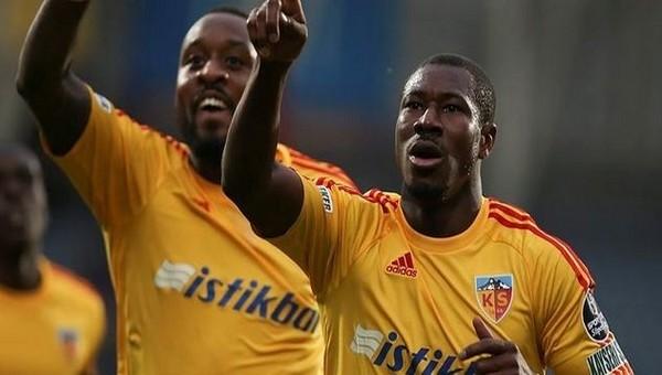 Kayserispor'da Nakoulma sözleşmesini feshetti