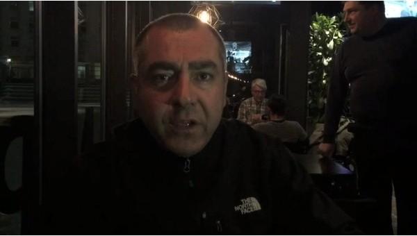 Kiev'de Beşiktaş taraftarlarına saldırı! Yaralılar...