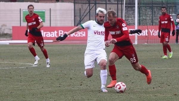 Kırklarelispor 0-4 Gaziantepspor maç özeti ve golleri