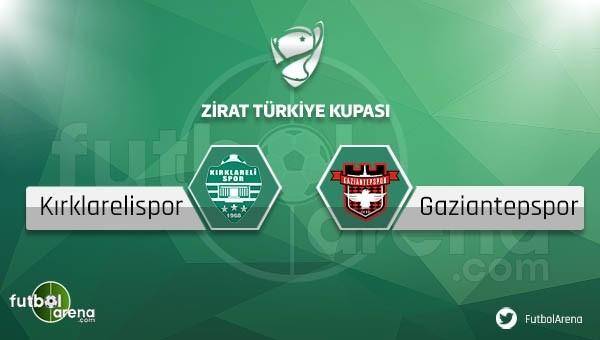 Kırklarelispor - Gaziantepspor maçı saat kaçta, hangi kanalda?