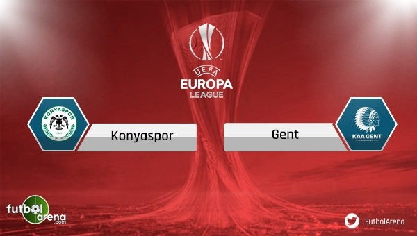 Konyaspor sahasında Gent'i ağırlıyor