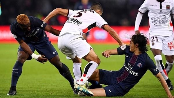 Lider Nice, PSG deplasmanında da yenilmedi