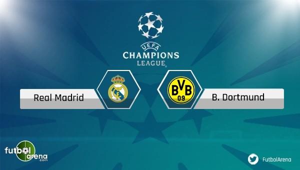 Real Madrid - Borussia Dortmund maçı saat kaçta, hangi kanalda?