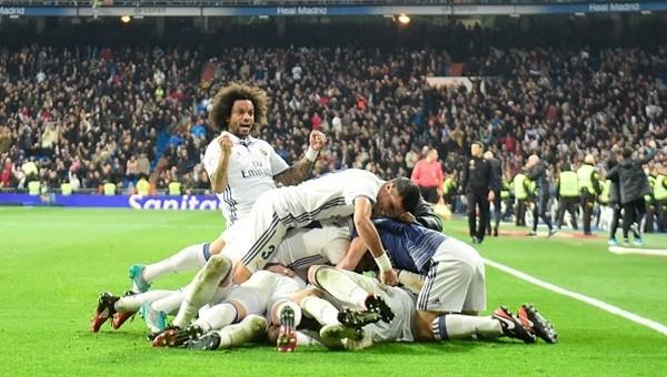 Real Madrid son dakikada kazandı, Zidane rekor kırdı