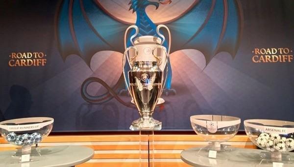 Şampiyonlar Ligi'nde son 16 turu kuraları