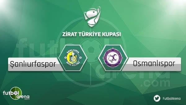 Şanlıurfaspor - Osmanlıspor maçı saat kaçta, hangi kanalda?