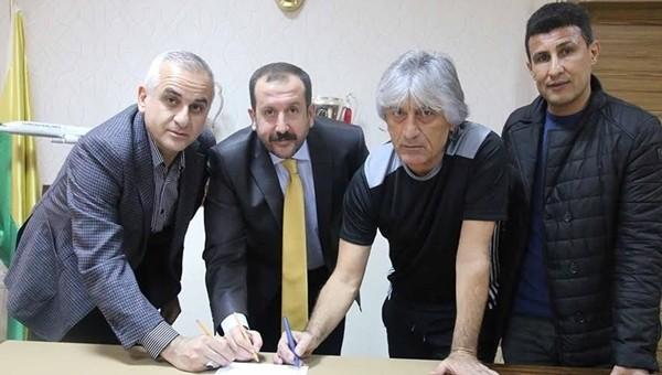 Şanlıurfaspor'da Kemal Kılıç imzayı attı!