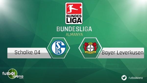 Schalke 04 - Bayer Leverkusen maçı saat kaçta, hangi kanalda?
