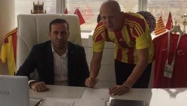 Sezer Özmen, Malatyaspor ile anlaştı