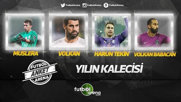 Süper Lig'de2016'nın en iyi kalecisi