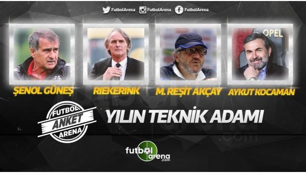 İşte Süper Lig'de2016'nın en iyi teknik direktörü
